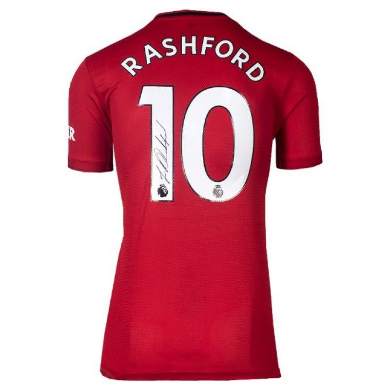 Rashford's Manchester United Signed Shirt, 2019-20