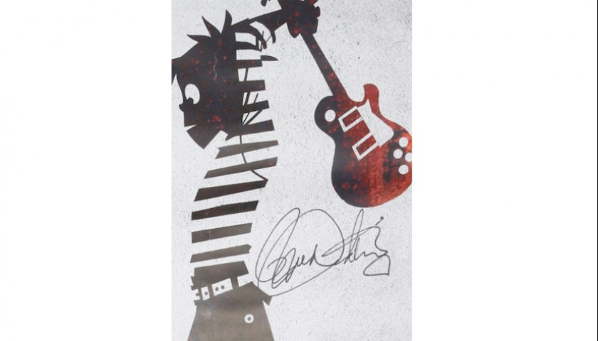 Signed 2012 Poster by The Who
