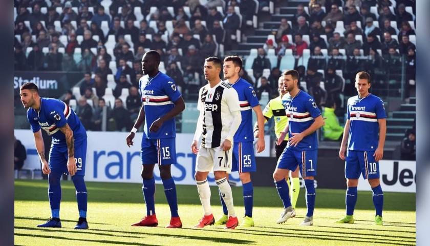 Colley's Worn Shirt, Juventus-Sampdoria 2018