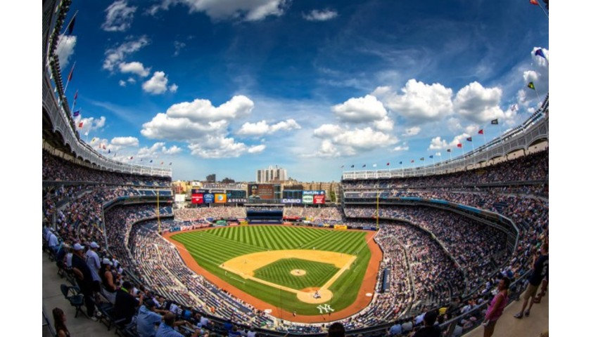 2020 Yankees vs. Red Sox VIP Luxury Suite Experience for Two