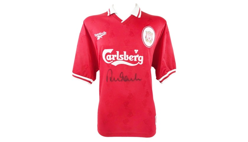 Official Liverpool Shirt, 1997/98 - Signed by Fowler
