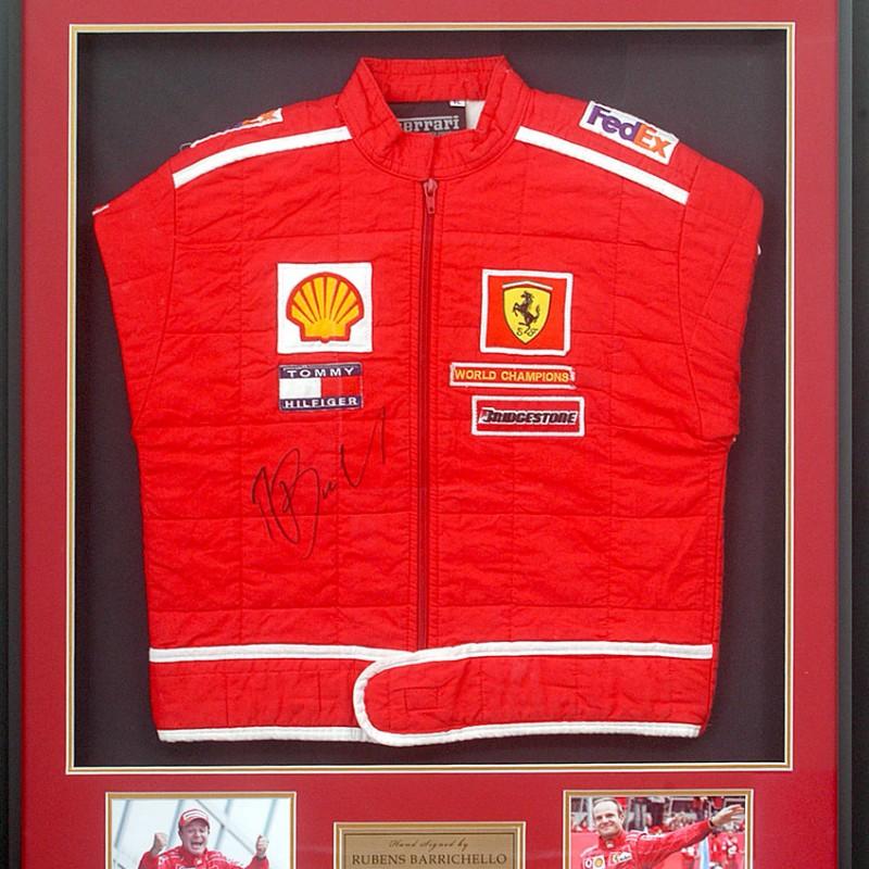 Rubens Barrichello Ferrari Race Jacket