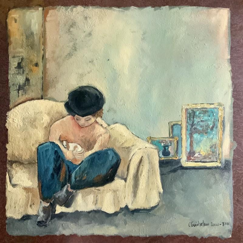"""""""Léon Et Son Chien"""" by Cécile Guicheteau"""