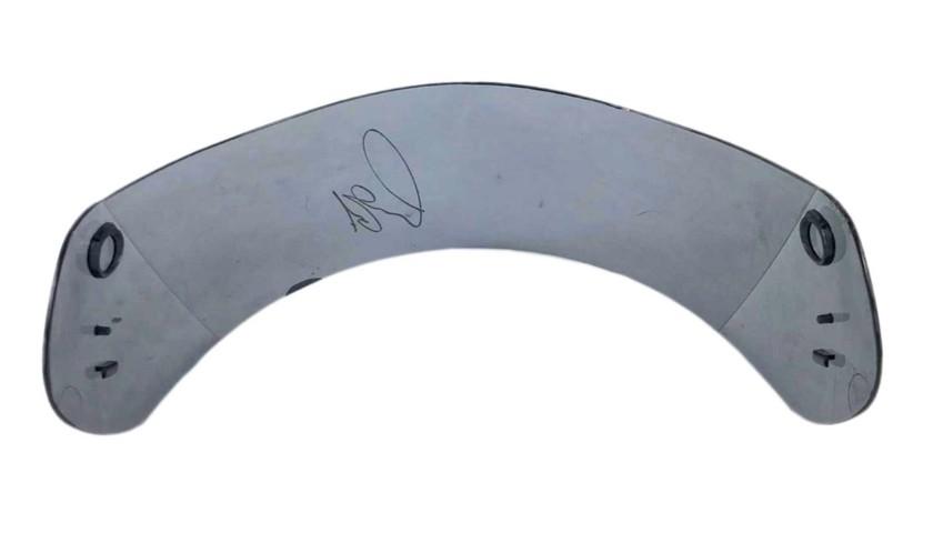 Visor Signed by Lewis Hamilton
