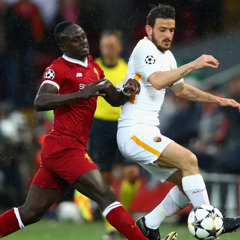 Florenzi's Worn Shirt, Liverpool-Roma 2018