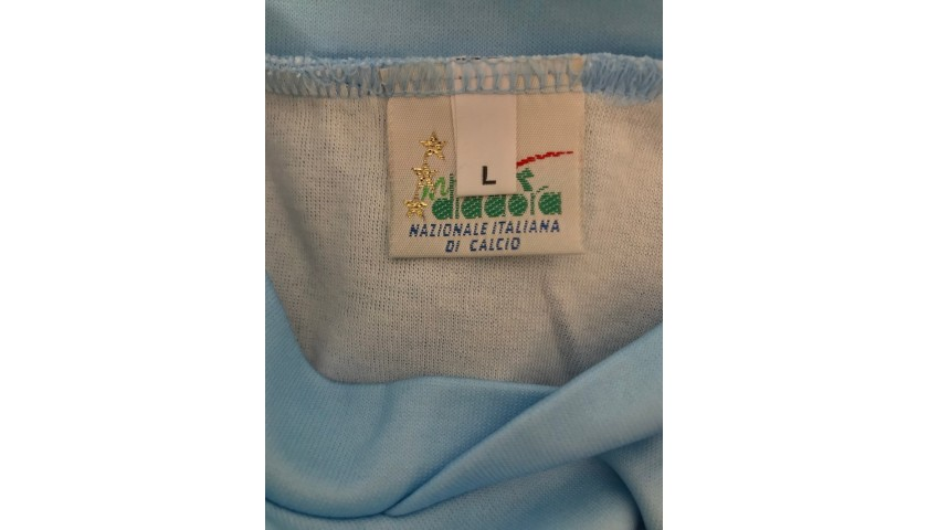 Italy Training Shirt, 1993/94 - Signed by Baggio