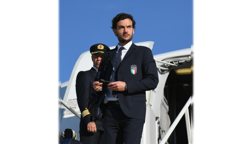 Marco Parolo's Italy National Football Team Shirt by Ermanno Scervino