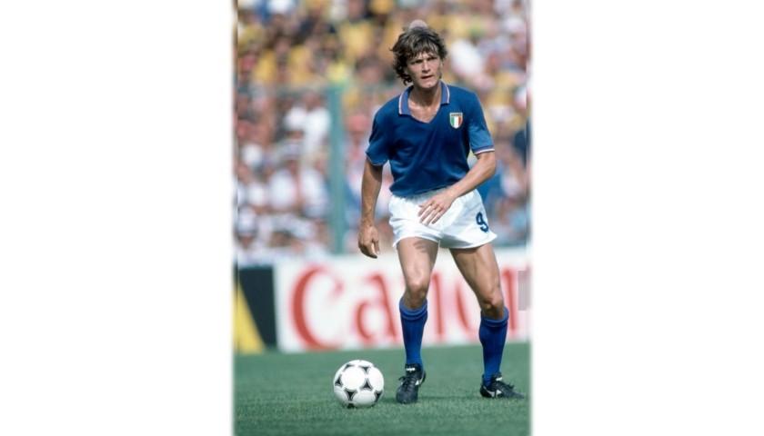 Antognoni's Italy Match Shirt, World Cup 1982