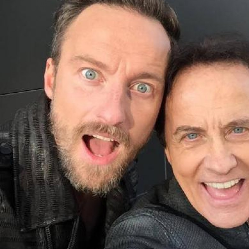 A night with Francesco & Roby Facchinetti