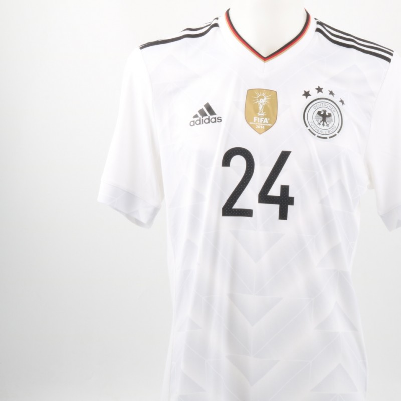 Henrichs Match issued/worn Shirt, Italy-Germany 15/11/2016
