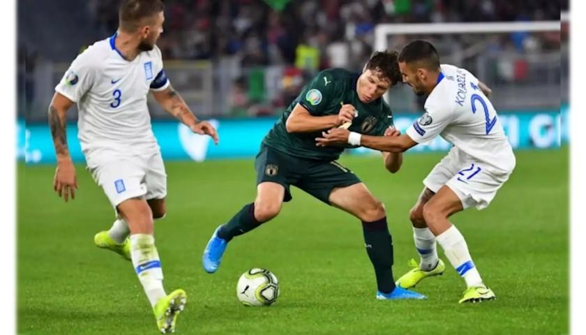 Chiesa's Match Shirt, Italy-Greece 2019