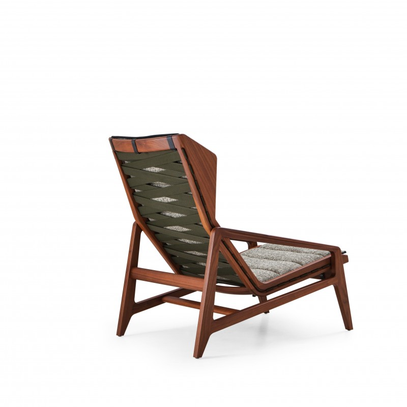 D.156.3 Armchair Designed by Gio Ponti