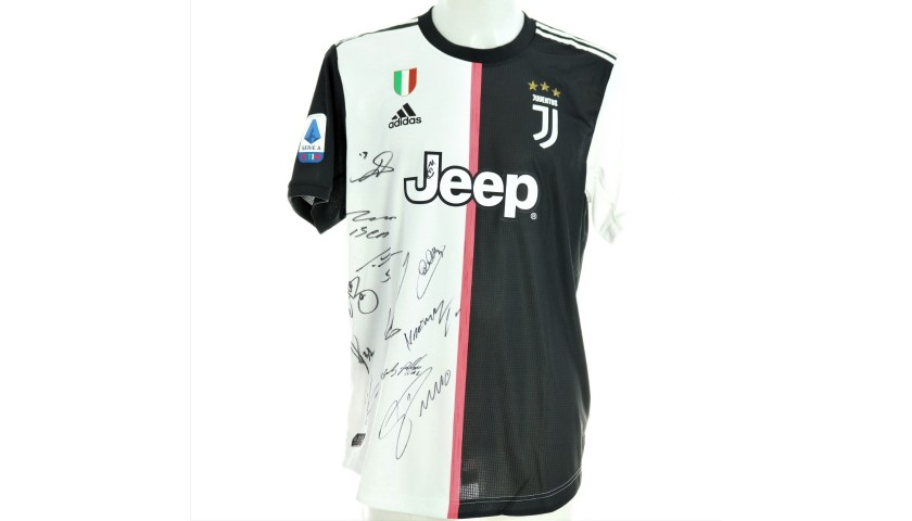 Ronaldo's Authentic Juventus Shirt, 2019/20 - Signed by the Players