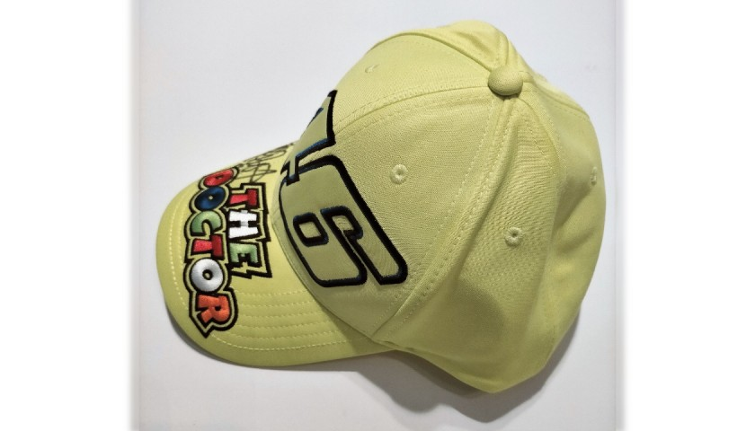 Fan Club VR46 Cap Signed by Valentino Rossi