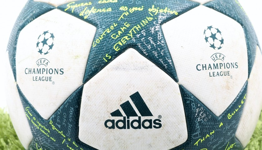 Official 2016/17 UCL Match Ball Signed by Dybala