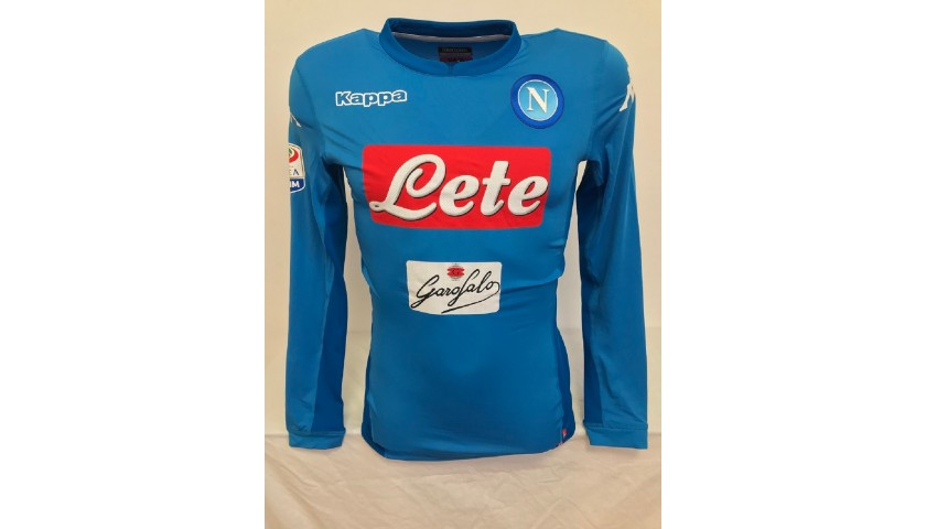 Ounas' Napoli Match Shirt, 2017/2018