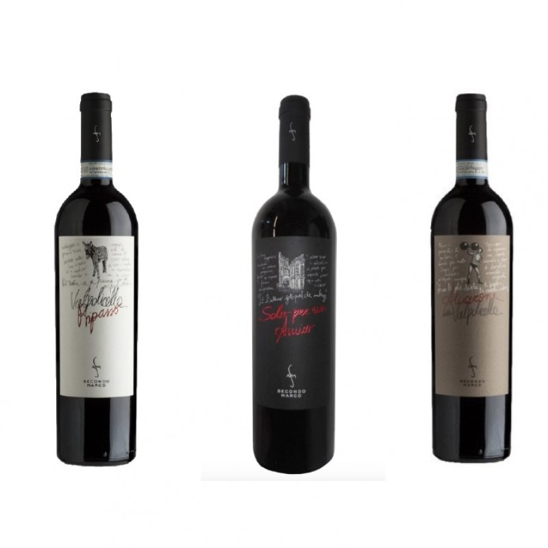 Three Bottles of Valpolicella, Cantina Secondo Marco