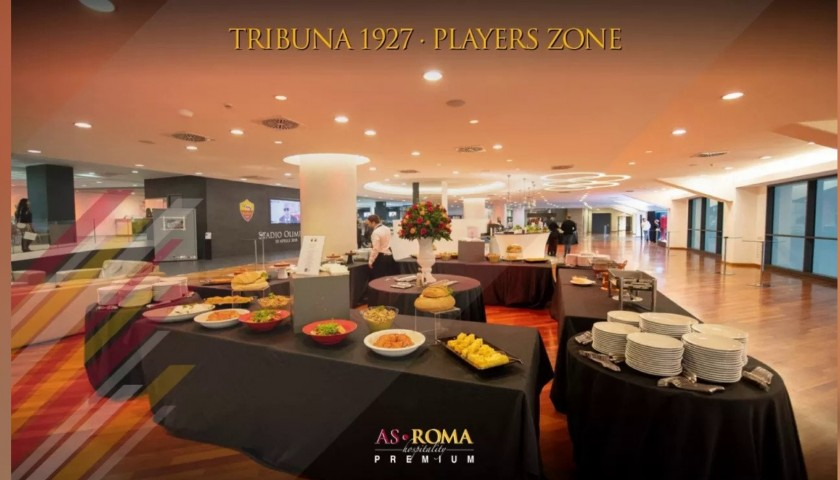 Enjoy AS Roma-Torino from the Players Zone with Hospitality