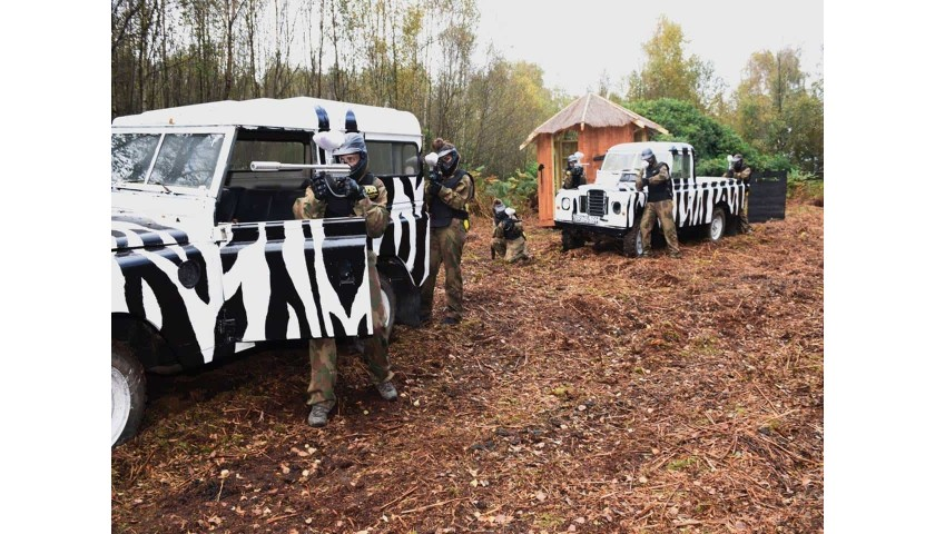 Paintball Package For 10 People
