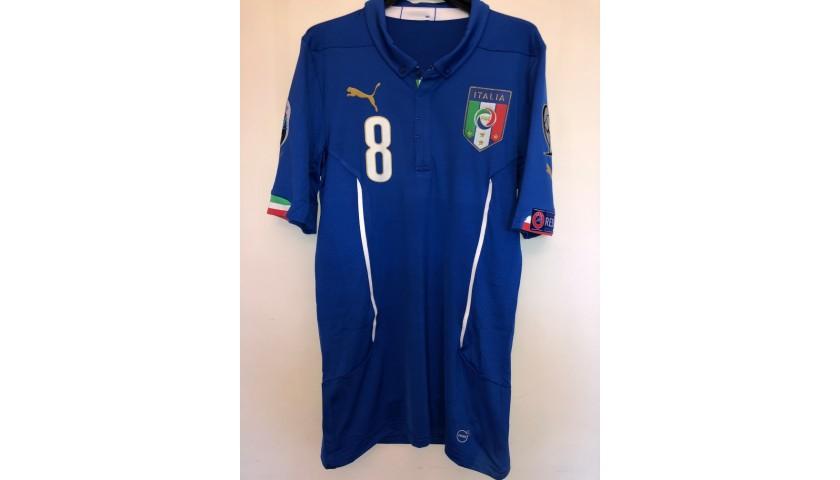Marchisio's Match Shirt, Croatia-Italy 2015