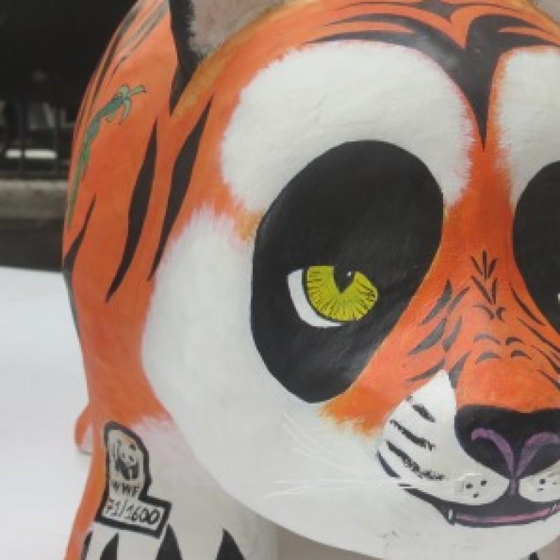 """Panda""""Tiger"""" personalized by Sveva Sagramola"""