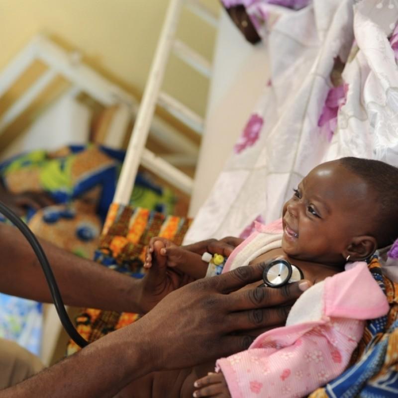 Pledge €20,000 - Provide antibiotics to treat up to 8000 children!
