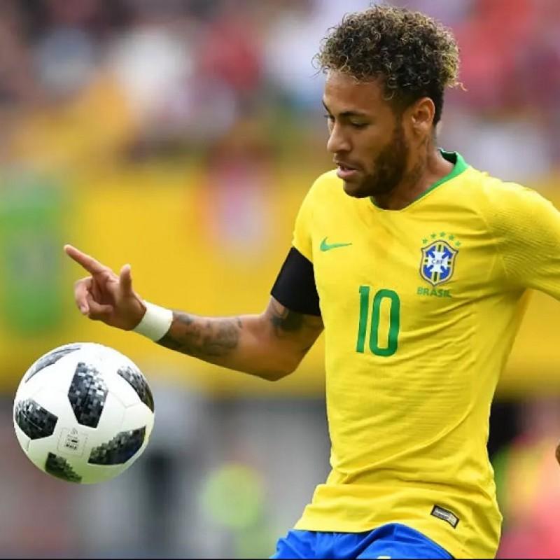 Nike Shin Pads - Signed by Neymar