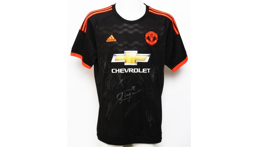 c2f904ad6 Manchester United FC Shirt Signed by the Squad of 2015