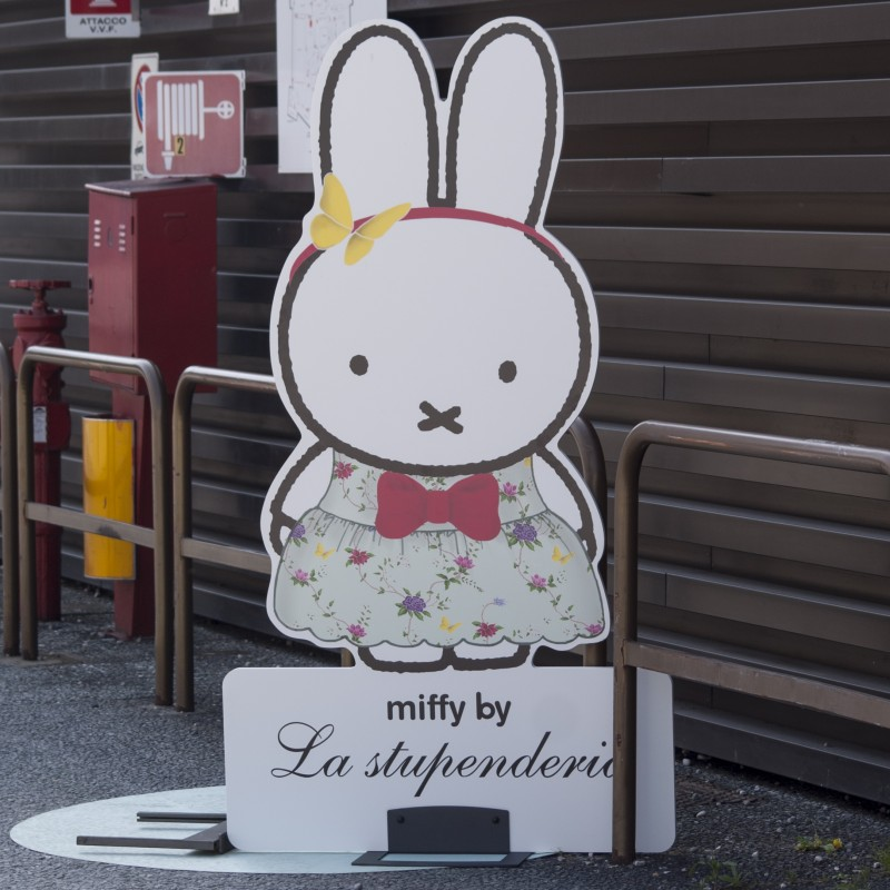 Miffy Wears La Stupenderia - Limited Edition