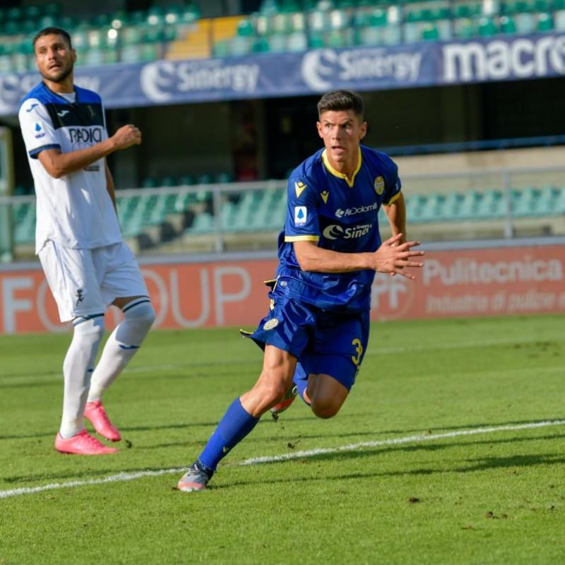 Pessina's Match-Issued Shirt, Hellas Verona-Atalanta 2020