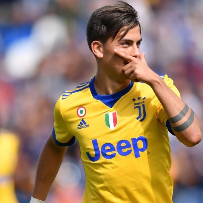 Signed Official Dybala Juventus Shirt, 2017/18