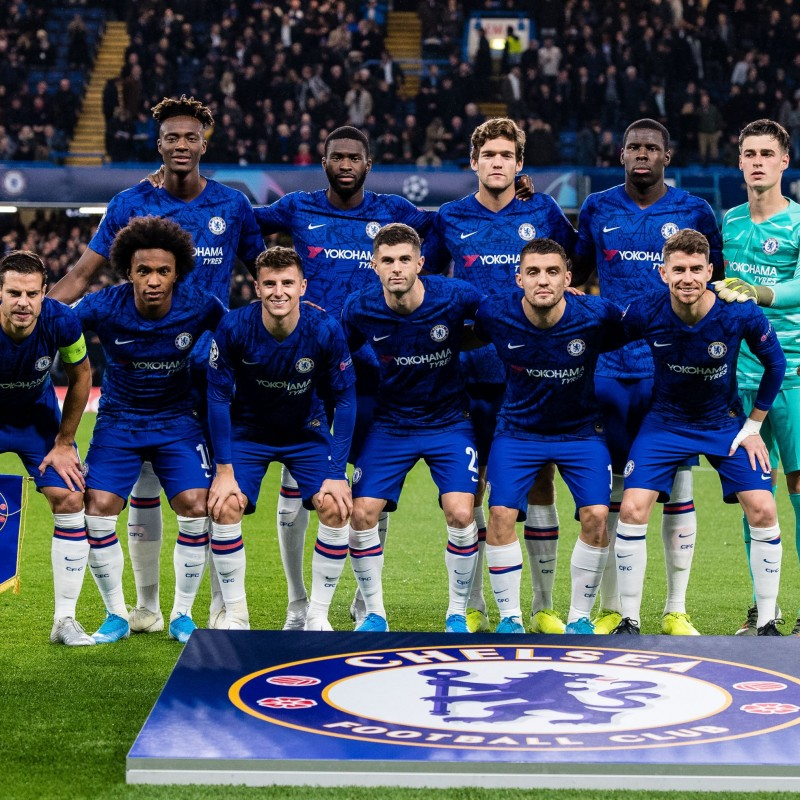 Official Chelsea FC Shirt, 2019/20 - Signed by the Team