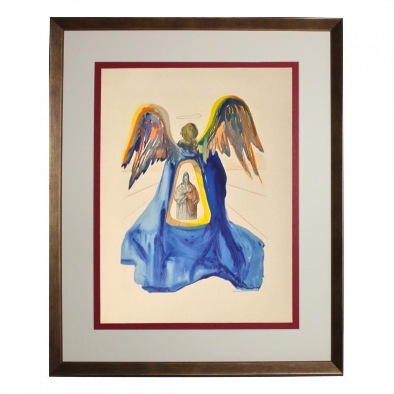 Original Board by Salvador Dalì - Divine Comedy Purgatory Canto XXXIII