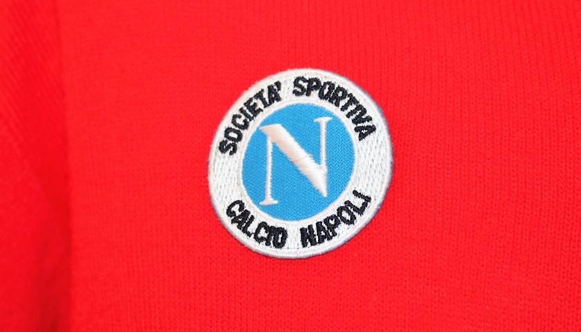 Maradona's Match-Issue/Worn Wettingen-Napoli 1989 Shirt