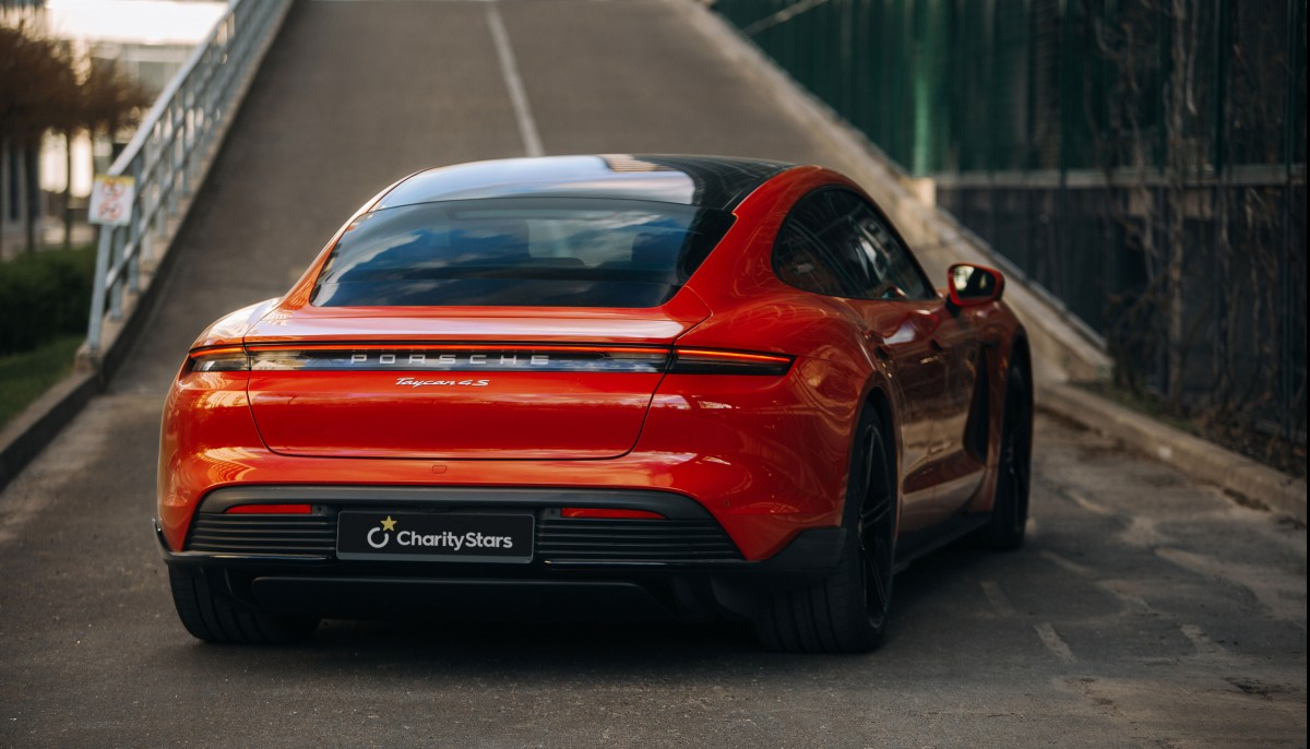 Win a Porsche Taycan 4S