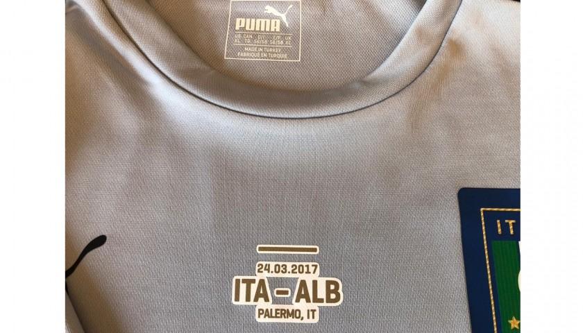 Buffon's Match Shirt, Italy-Albania 2017