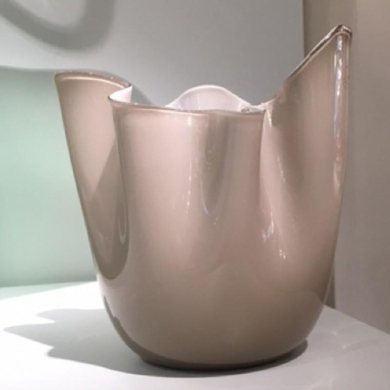 """Fazzoletto"" vase, made by Bianconi"