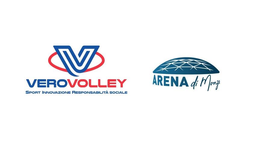 Consorzio Vero Volley and Alessandra Marzari - Arena in Monza