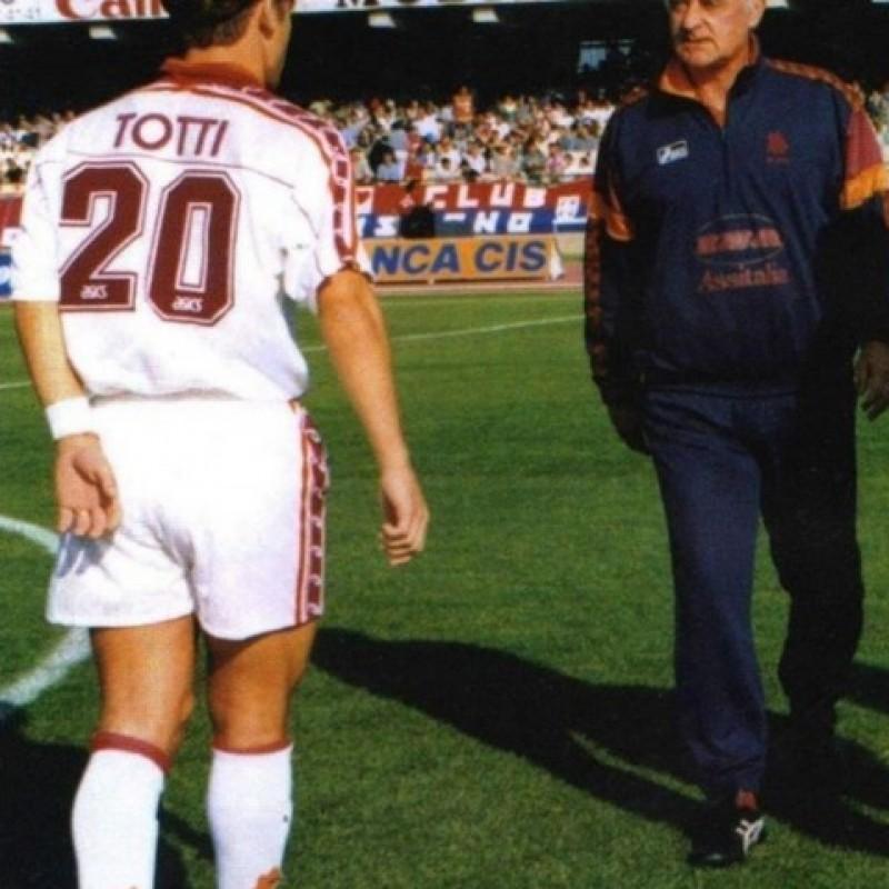Totti's Roma Match Shirt, season 1995/96