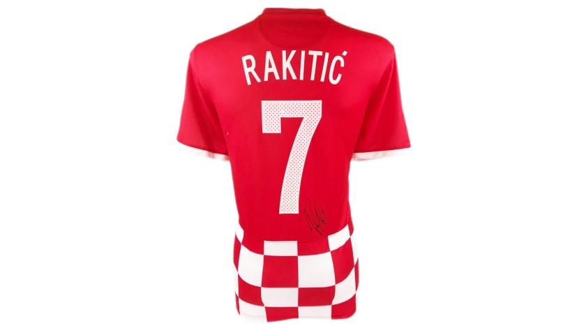 Rakitic's Official Croatia Signed Shirt, 2014