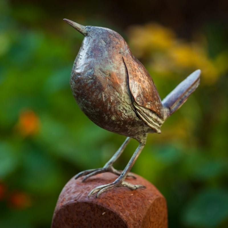 Bronze Bird by Leo Heerkens