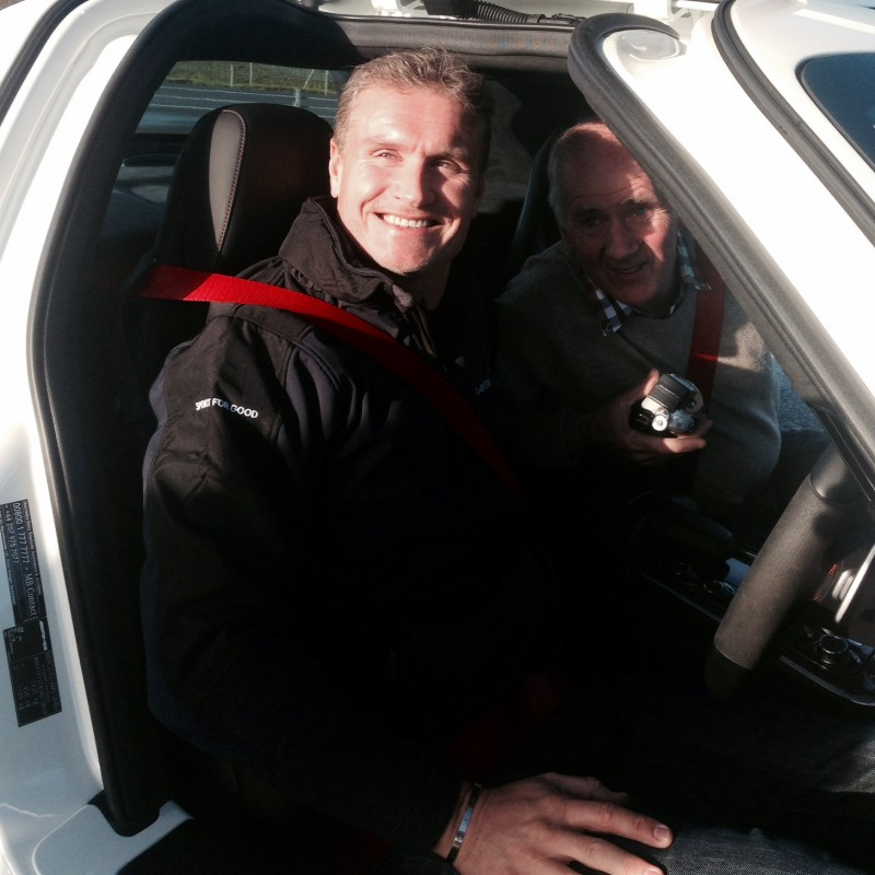 A Drive with David Coulthard
