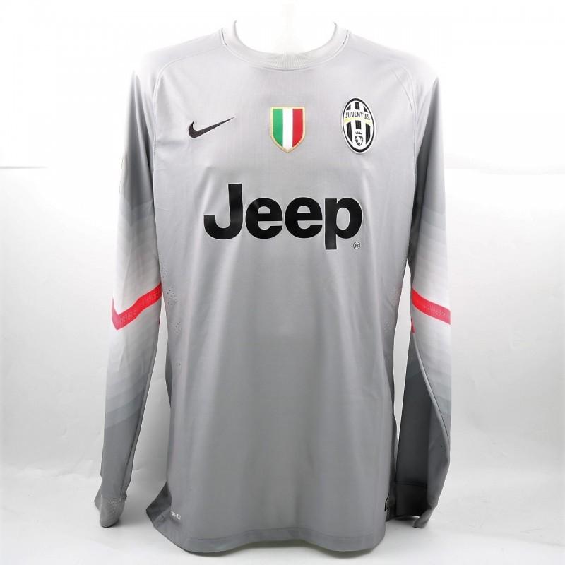 Storari's Match-Issued/Worn Juventus Shirt, Serie A 2014/15