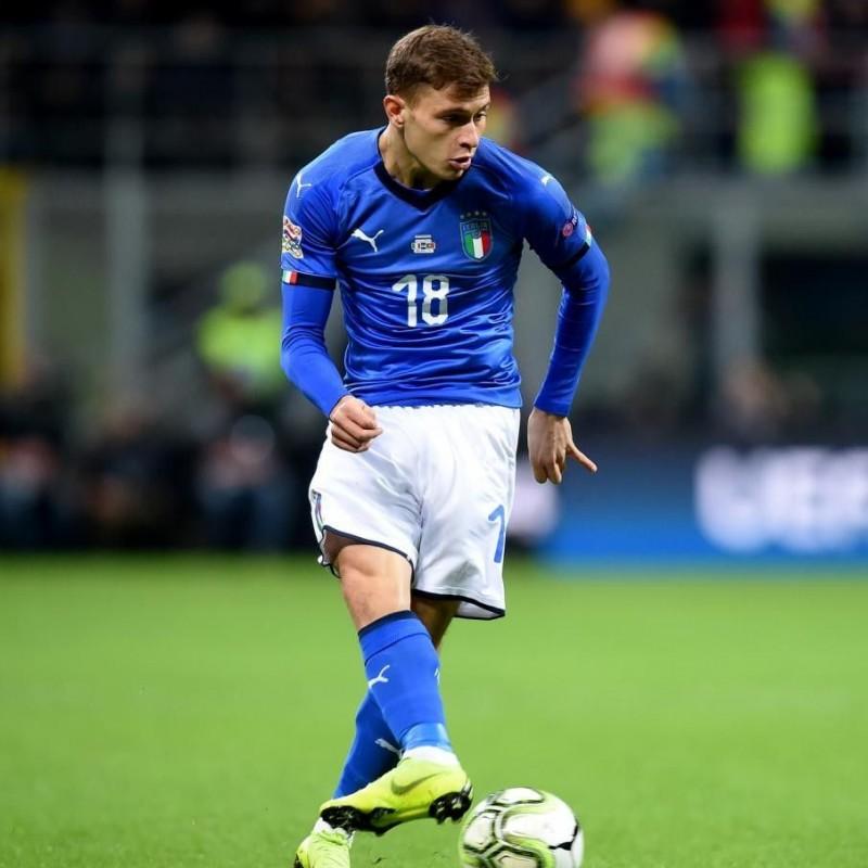 Barella's Italy Match Shorts, 2018