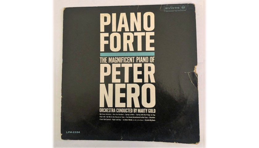 """""""Piano Forte"""" LP by Peter Nero, 1961"""