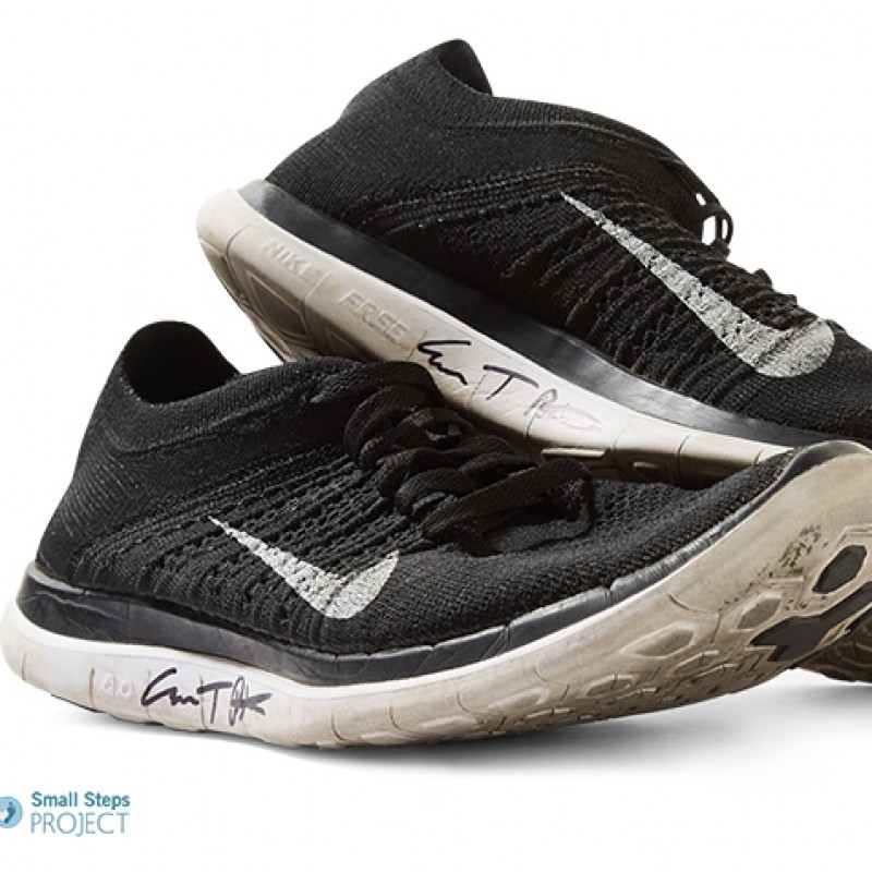 Evan Peter's Autographed Nike Trainers from his Personal Collection