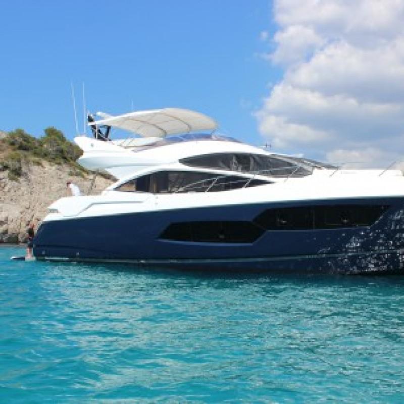 Luxury Private Yacht Charter Break in Mallorca for 8