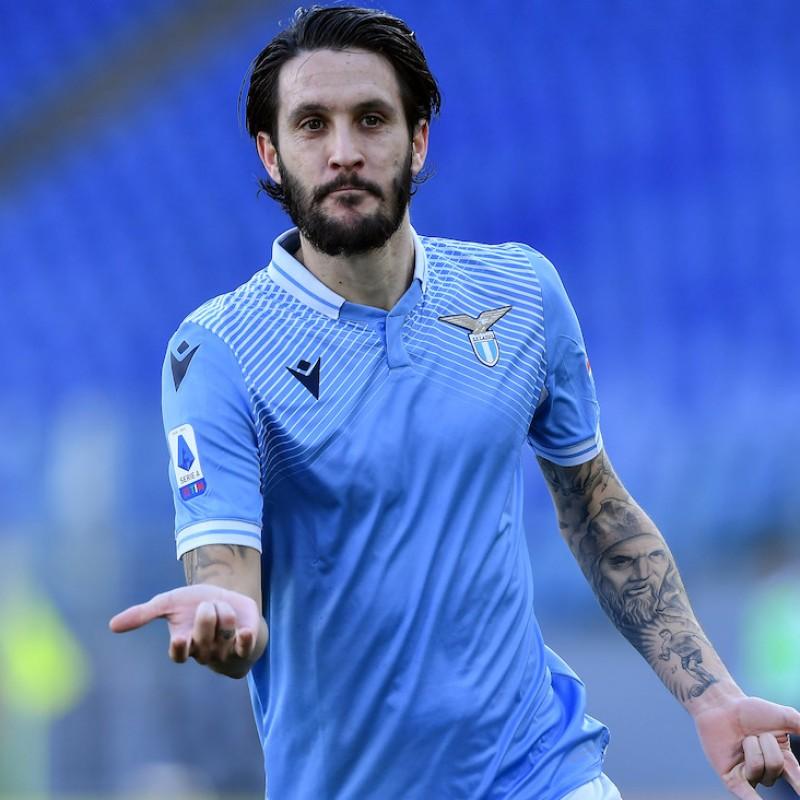 Luis Alberto's Official Lazio Signed Shirt, 2020/21