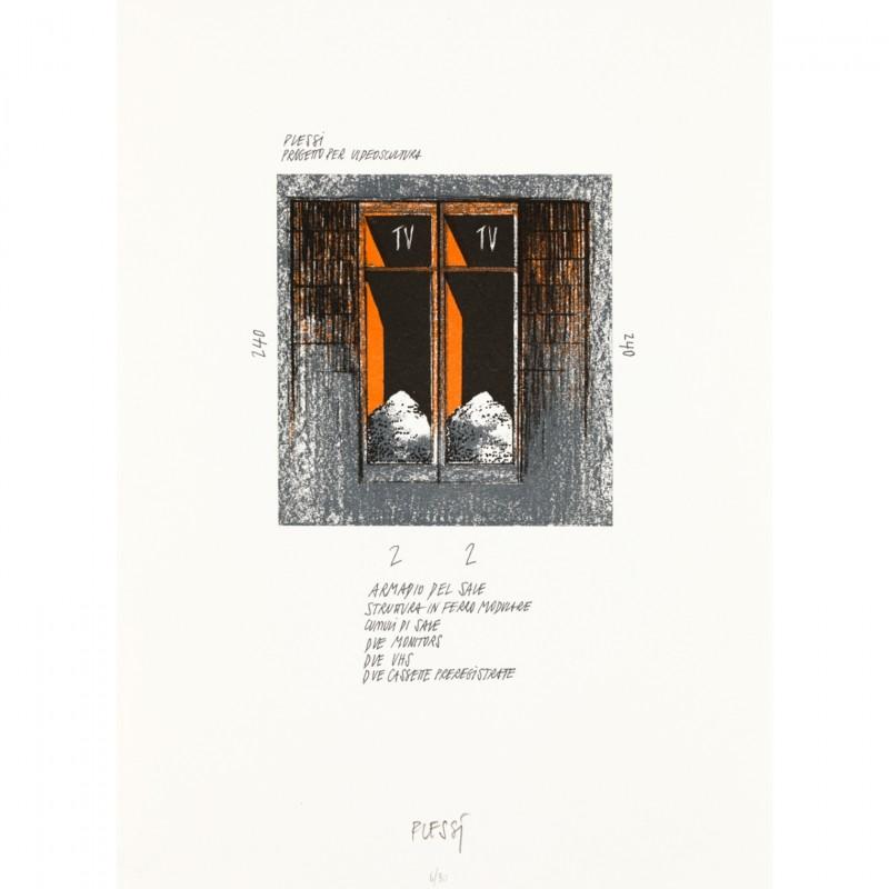 """Untitled"" by Fabrizio Plessi"