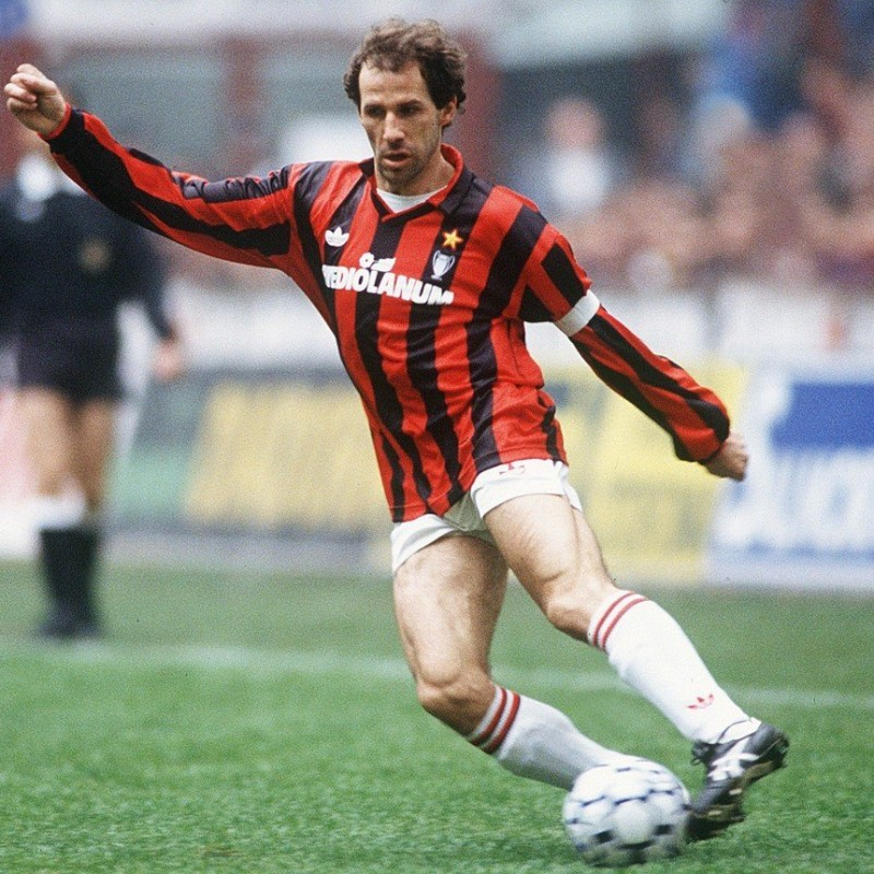 Baresi's Milan Match Shirt, 1990/91 Season